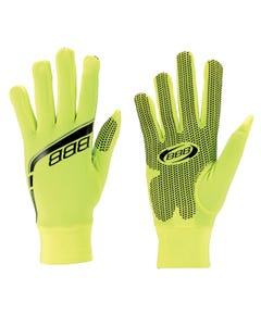BBB Raceshield Winter Full Finger Gloves Neon Yellow