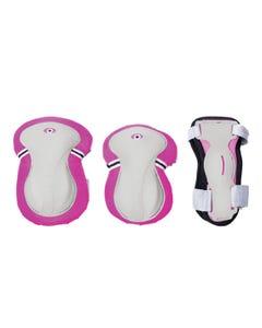 Globber Junior Protective Pad Set Pink