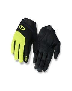 Giro Bravo Gel Full Finger Gloves Yellow