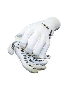 DeFeet Duraglove Full Finger Gloves ET White w/Black Grippies