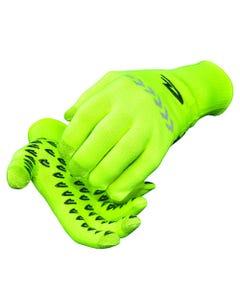 DeFeet Duraglove Full Finger Gloves ET Hi-Vis Yellow