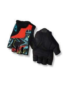 Giro Bravo Short Finger Youth Gloves Black Blast