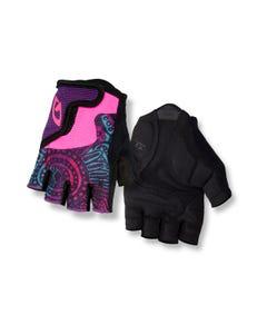 Giro Bravo Short Finger Youth Gloves Purple Blossom