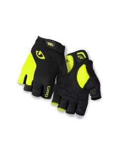 Giro Strade Dure Supergel Short Finger Gloves Yellow/Black