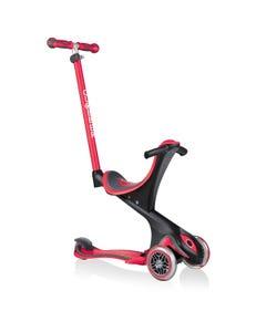 Globber Go Up Comfort 3 Wheel Kids Scooter Red