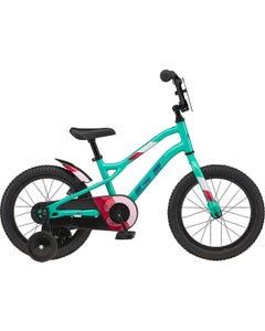 GT Siren 16 Girls Bike Gloss Pitch Green (2021)