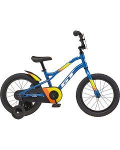 GT 16 Grunge Boys Bike Gloss Blue (2021)