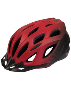 Azur L61 Helmet Satin Red/Black Fade