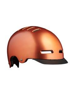 Lazer Street Deluxe Helmet Copper