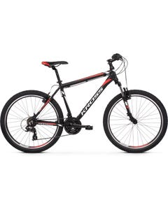 Kross Hexagon 1.0 26 Mountain Bike Black/White/Red (2020)