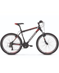 Kross Hexagon 1.0 26 Hybrid Bike Black/White/Red (2019)