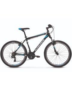 Kross Hexagon 1.0 26 Hybrid Bike Black/White/Blue (2019)