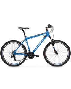 Kross Hexagon 1.0 26 Hybrid Bike Blue/Silver/Black (2019)