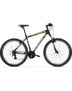 Kross Hexagon 2.0 27.5 Mountain Bike Black/White/Lime MD (2020)
