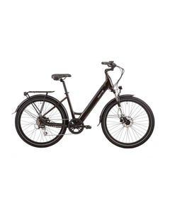 VelectriX Urban+ Step Through Electric Hybrid Bike Black (2022)