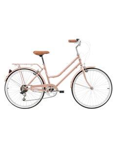 Pedal Uptown 24 Girls Cruiser Bike Rose Gold