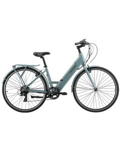 Pedal Lightning ST Electric Hybrid Bike Grey/Blue