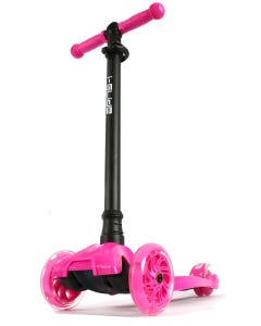 I-Glide with Lights Kids Scooter Pink