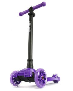 I-Glide with Lights Kids Scooter Purple