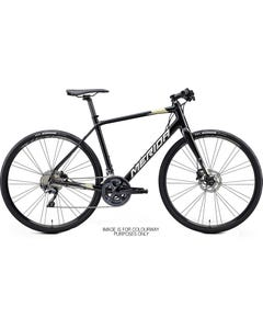 Merida Speeder 900 Flat Bar Road Bike Metallic Black/Silver/Gold (2021)