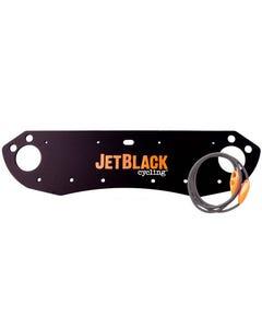 Jet Black Number Plate Holder | 99 Bikes