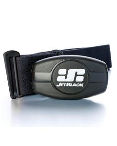 Jet Black Heart Rate Monitor with Dual Band Technology (Bluetooth / ANT +) Soft Strap | 99 Bikes