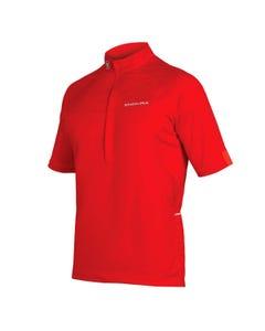 Endura Xtract Short Sleeve Jersrey Red