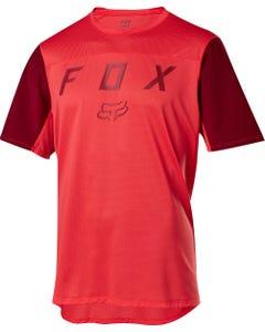 FOX Flexair Short Sleeve Jersey Moth Bright Red