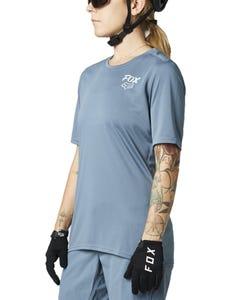 FOX Ranger Short Sleeve Women's Jersey Matte Blue