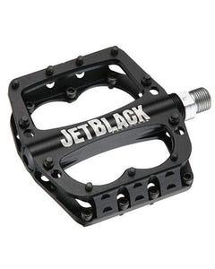 JetBlack Superlight Flat Pedal | MTB/BMX (Black)  | 99 Bikes