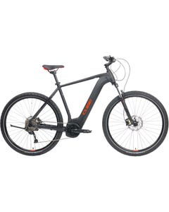 Cube Nature Hybrid ONE 400 Electric Hybrid Bike Black/Red (2021)