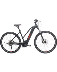 Cube Nature Hybrid ONE 400 Trapeze Electric Hybrid Bike Black/Red (2021)