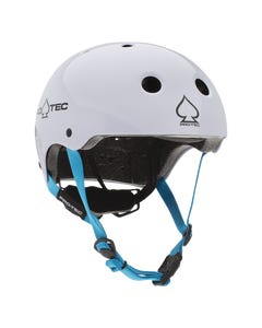 Pro-Tec Junior Classic Certified Helmet Gloss White