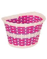Basket Front Kids Pink Purple Weave