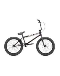 """Kink Launch BMX Bike 20.25""""TT Matte Iridescent Black (2022)"""