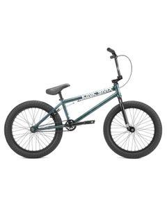 """Kink Launch BMX Bike 20.25""""TT Gloss Galaxy Green (2022)"""