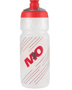 M2O Pilot Bottle 710ml Clear/Red