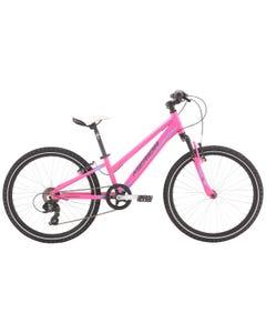 Merida Matts J24 Girls Bike Pink Barbie Blue/Grey (2021)