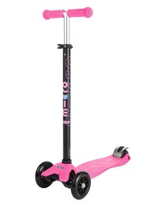 Micro Maxi 3 Wheel Kids Scooter Pink