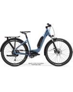 Merida eSpresso CC 400 SE EQ Electric Hybrid Bike Silk Black/Steel Blue (2021)