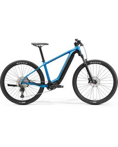 Merida eBig Nine 600 Electric Mountain Bike Silk Blue/Black (2021)