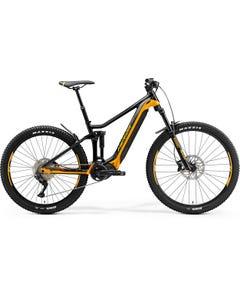 Merida eOne Forty 400 Electric Mountain Bike Black/Orange (2021)