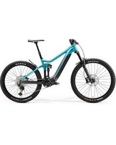 Merida eOne Sixty 700 Electric Mountain Bike Glossy Metallic Teal Anthracite (2021)