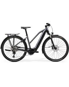 Merida eSpresso EP8-Edition EQ 630Wh Women's Electric Hybrid Bike Matt Dark Silver/Black (2022)