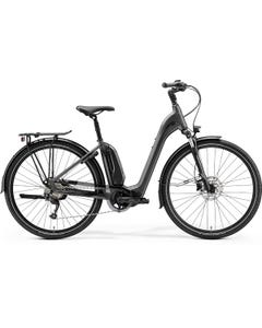 Merida eSpresso City 300SE EQ 504Wh Electric Hybrid Bike Step-Thru Matt Silver (2022)