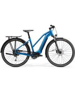 Merida eSpresso 400 S EQ 500Wh Women's Electric Hybrid Bike Silk Blue (2022)