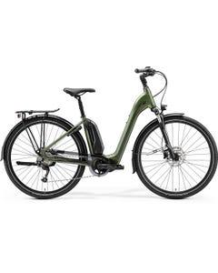 Merida eSpresso City 300SE EQ 504Wh Electric Hybrid Bike Step-Thru Silk Green (2022)