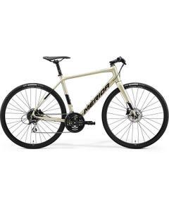 Merida Speeder 100 Flat Bar Road Bike Silk Champagne (2022)