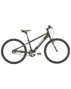 Merida Matts J24 Lite Boys Bike Matt Black/Green/White (2021)
