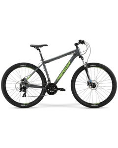 Merida Big Seven 10 D Mountain Bike Anthracite Green/Silver (2021)